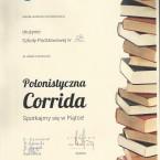 konkurs polonistyczna Corrida